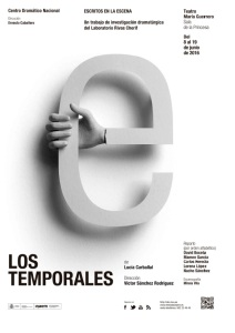 Los temporales - Cartel