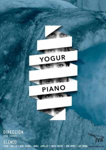 Yogur Piano - Cartel