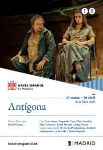 Antígona - Cartel