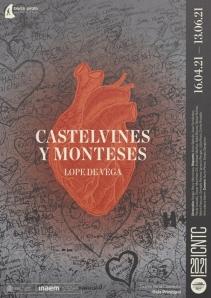 Castelvines y Monteses - Cartel