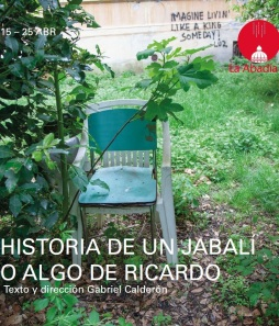 Historia de un jabalí - Cartel