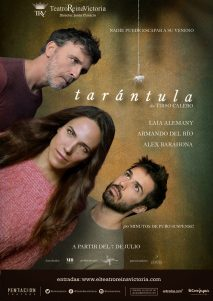 Tarántula - Cartel