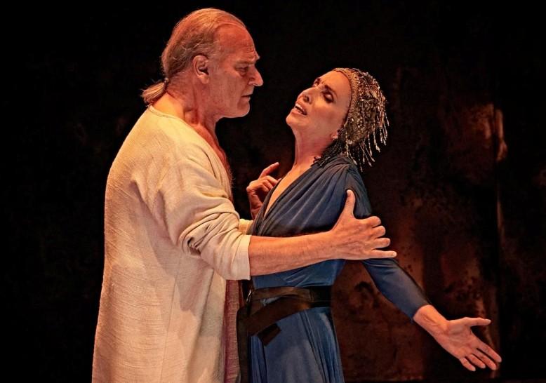 Antonio y Cleopatra - Foto de Sergio Parra
