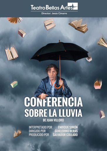 Conferencia sobre la lluvia - Cartel